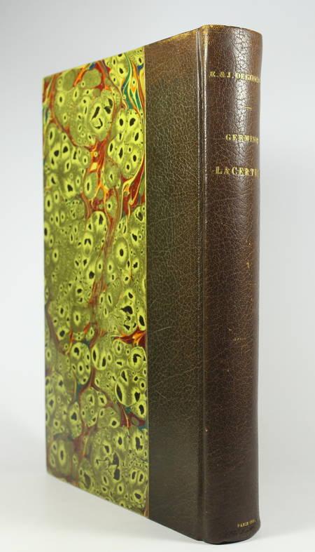 GONCOURT - Germinie Lacerteux 1886 Illustrations de Jeanniot 1/100 Japon - Photo 1 - livre d'occasion