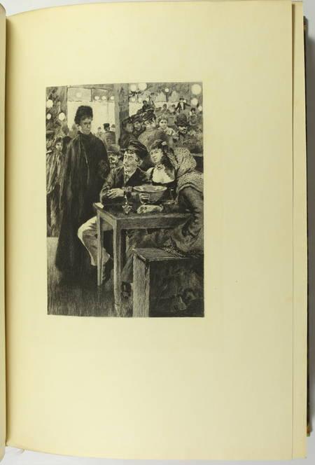 GONCOURT - Germinie Lacerteux 1886 Illustrations de Jeanniot 1/100 Japon - Photo 3 - livre du XIXe siècle