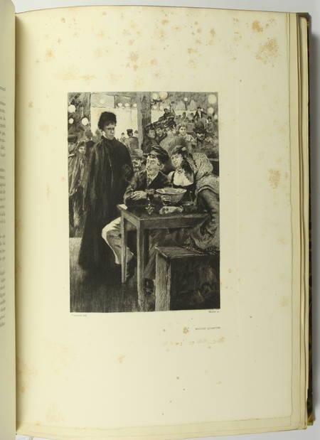 GONCOURT - Germinie Lacerteux 1886 Illustrations de Jeanniot 1/100 Japon - Photo 4 - livre du XIXe siècle