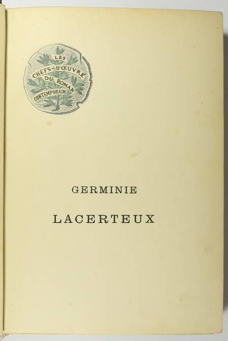 GONCOURT - Germinie Lacerteux 1886 Illustrations de Jeanniot 1/100 Japon - Photo 5 - livre du XIXe siècle