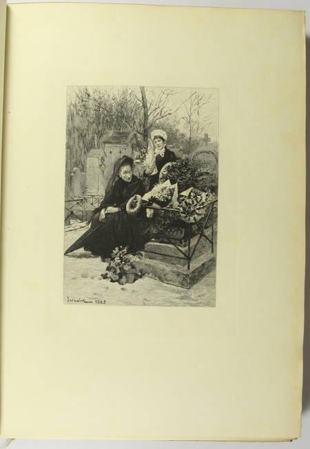 GONCOURT - Germinie Lacerteux 1886 Illustrations de Jeanniot 1/100 Japon - Photo 6 - livre du XIXe siècle