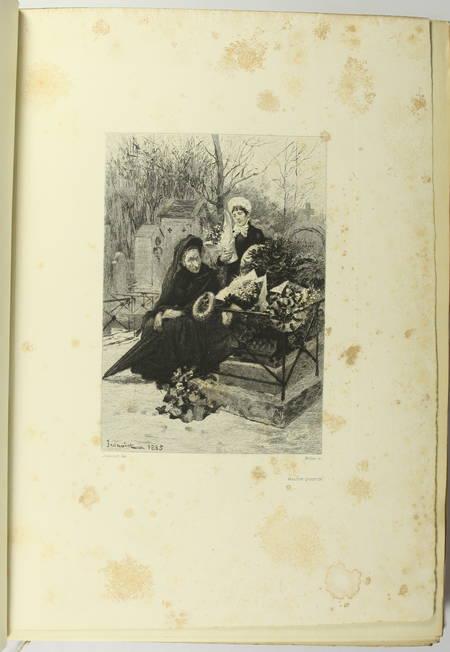 GONCOURT - Germinie Lacerteux 1886 Illustrations de Jeanniot 1/100 Japon - Photo 7 - livre du XIXe siècle