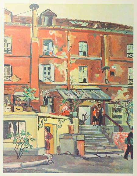 Yves Brayer et Paris - 103 peintures aquarelles dessins 1964 Texte de Mac Orlan - Photo 1 - livre de collection
