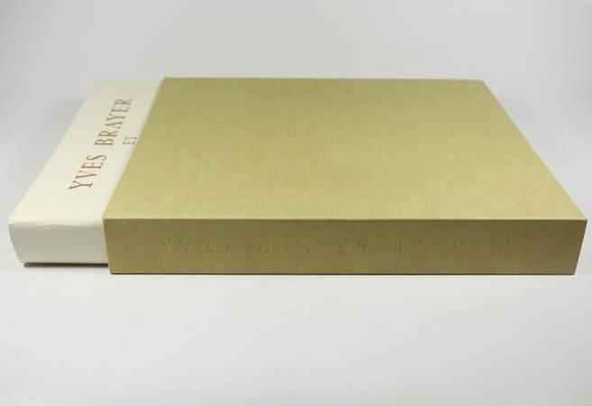 Yves Brayer et Paris - 103 peintures aquarelles dessins 1964 Texte de Mac Orlan - Photo 2, livre rare du XXe siècle