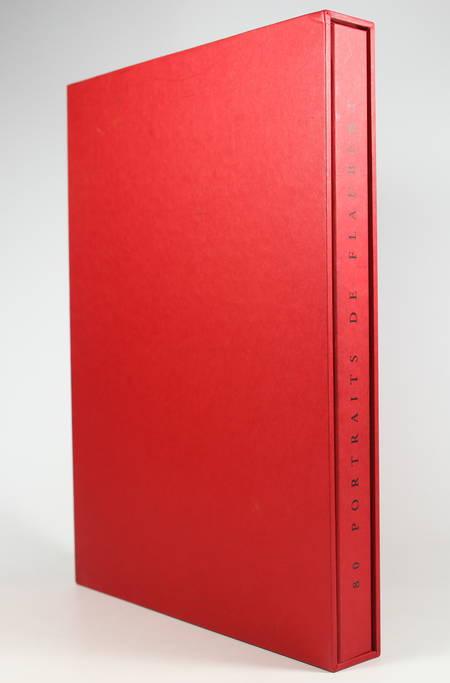 Adam-Tessier - 80 portraits de Flaubert 2002 Gravure originale de Gilles Marrey - Photo 1, livre rare du XXIe siècle