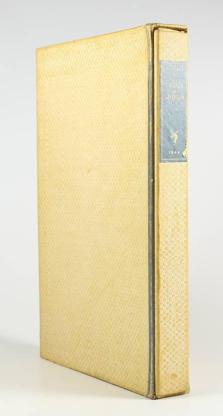 BOCCACE - Troïlle et Criseida - Traduit au XVe par le sire de Beauvau - Photo 2, livre rare du XXe siècle