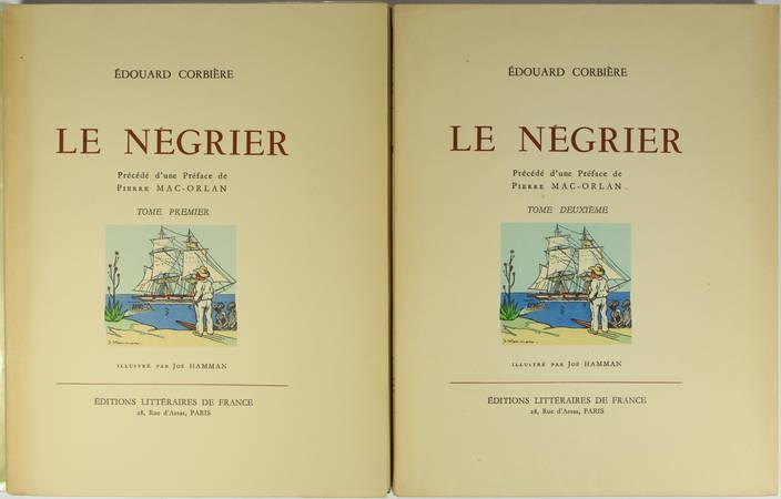 Edouard CORBIERE - Le négrier - Illustrations en couleurs de Joë Hamman - 2 vol. - Photo 2 - livre moderne