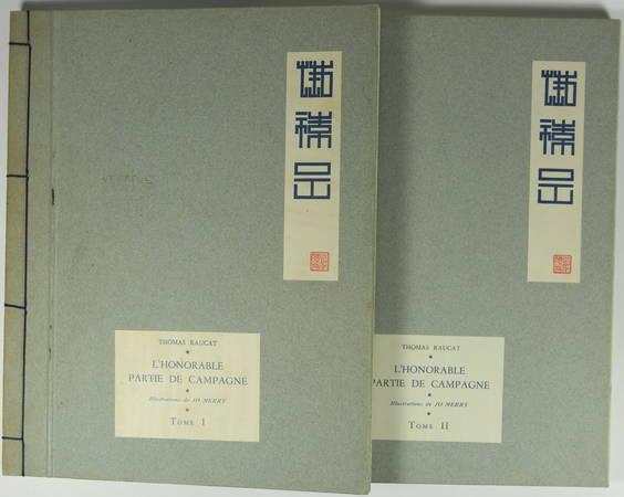 Thomas RAUCAT - L honorable partie de campagne 2 volumes - Illustré par Jo Merry - Photo 1 - livre du XXe siècle