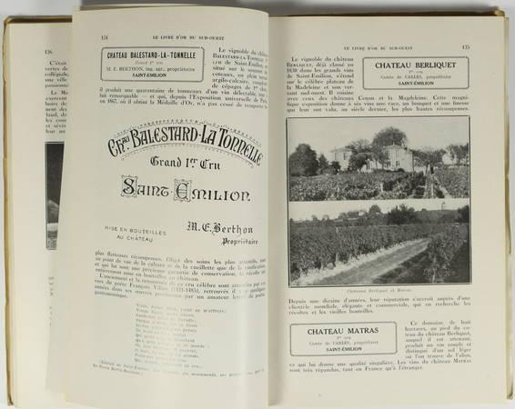 [Oenologie] Exposition coloniale Paris 1931. Le Sud-Ouest de la France - 1931 - Photo 1 - livre d'occasion