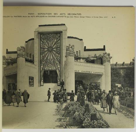 Album souvenir. Exposition des Arts Décoratifs. Paris - 1925 - 20 planches - Photo 1 - livre du XXe siècle