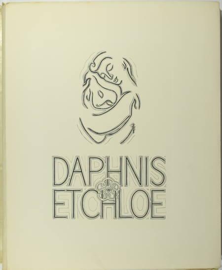 LONGUS - Daphnis et Chloé - 1949 - Illustré par Suzanne Tourte - Photo 1, livre rare du XXe siècle