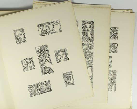 LONGUS - Daphnis et Chloé - 1949 - Illustré par Suzanne Tourte - Photo 2, livre rare du XXe siècle