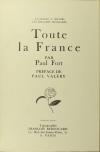 Paul FORT - Poèmes au Dunois + Toute la France - 1920-7 - Envoi + Poème EAS - Photo 4, livre rare du XXe siècle