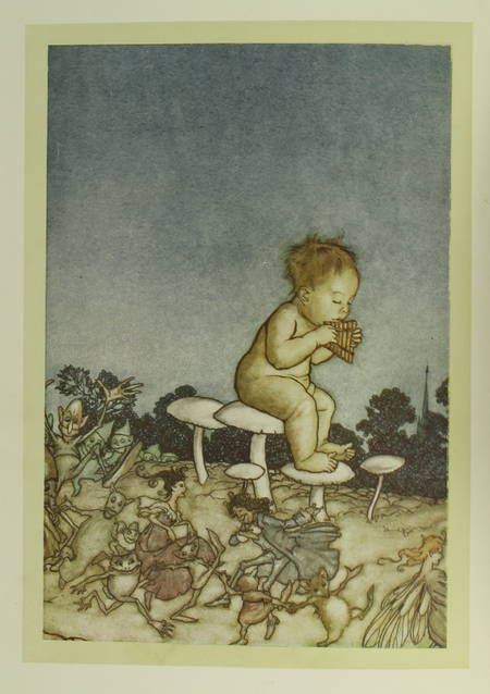 BARRIE (J. M.). Piter Pan dans les jardins de Kensington, par J. M. Barrie (Conte tiré du Petit oiseau blanc), livre rare du XXe siècle