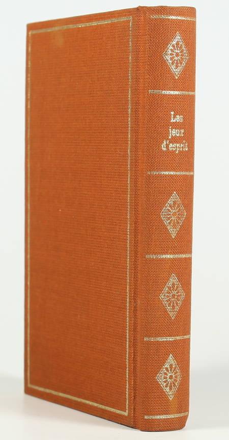 . Jeux d'esprit, livre rare du XXe siècle
