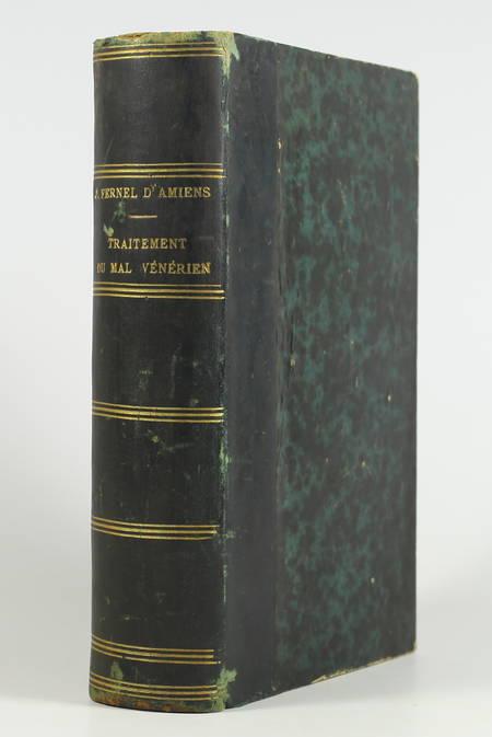 [Médecine] FERNEL d AMIENS - Le meilleur traitement du mal vénérien (1579) 1879 - Photo 1, livre rare du XIXe siècle