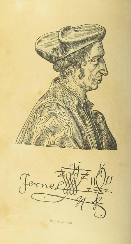 [Médecine] FERNEL d AMIENS - Le meilleur traitement du mal vénérien (1579) 1879 - Photo 2, livre rare du XIXe siècle