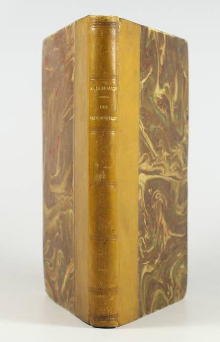 LA BEAUCIE (Albert ). Une résurrection. Histoire étrange, livre rare du XXe siècle
