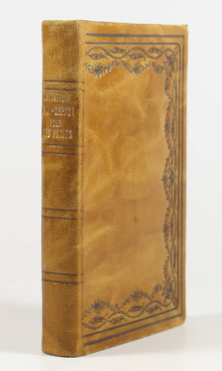 . Imitation de Jésus-Christ pour les tout petits, par l'auteur du catéchisme sans maître, etc., livre rare du XXe siècle