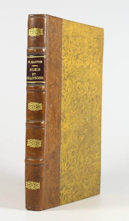 MARTIN - Les noelz et chansons composez en vulgaire et savoysien - 1883 - Photo 0 - livre de collection
