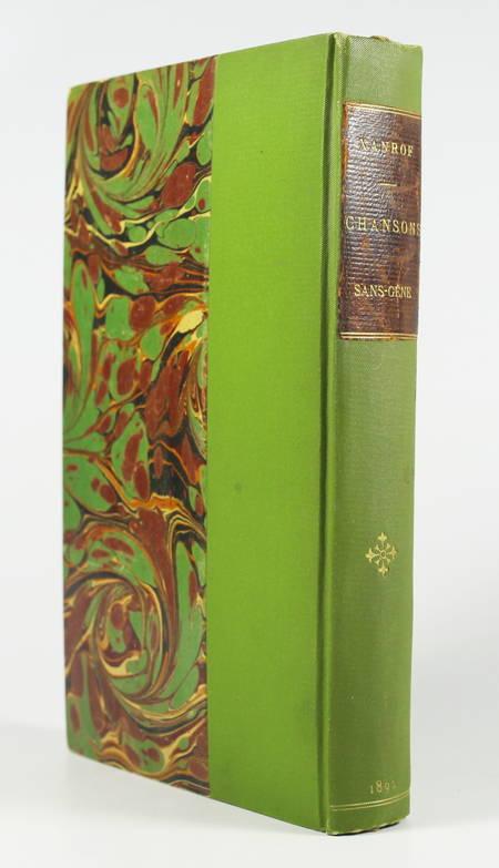 XANROF - Chansons sans-gêne - 1890 - Illustrations - Photo 1 - livre d'occasion