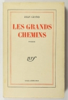 Jean GIONO - Les grands chemins - 1951 - 1/160 vélin pur fil Lafuma-Navarre - EO - Photo 1 - livre du XXe siècle