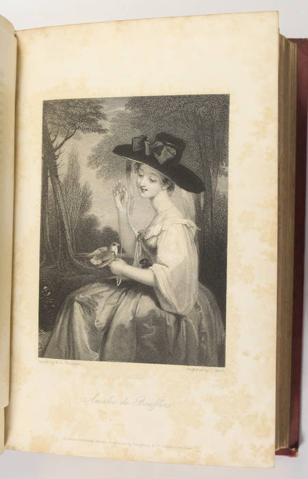 The keepsake - 1834 - Contient une EO de Mary Shelley - Photo 2 - livre rare
