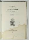 Annales du catholicisme en Europe - 1839-1841 - 7 n° - collection complète - Photo 2, livre rare du XIXe siècle