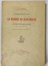 [Paris] MOUTON - Le manoir de Jean Bouyn et l Ecole des Beaux-arts 1912 - Photo 0 - livre rare