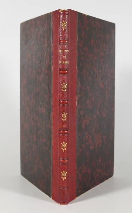Alexis PIRON - Oeuvres badines - 1834 - Portrait + 8 planches - Photo 0 - livre de bibliophilie