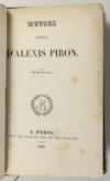 Alexis PIRON - Oeuvres badines - 1834 - Portrait + 8 planches - Photo 2 - livre romantique