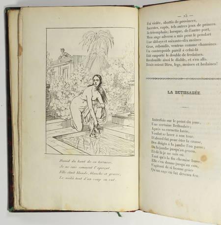 Alexis PIRON - Oeuvres badines - 1834 - Portrait + 8 planches - Photo 6 - livre romantique