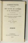 REYNIER - Corrections des fautes de langage en Provence et Midi - 1829 - Photo 1 - livre du XIXe siècle