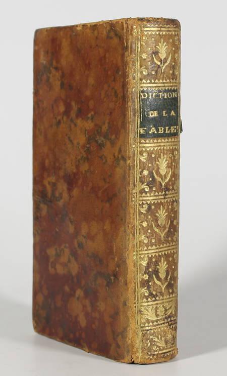CHOMPRE - Dictionnaire de la fable - Poésie, peinture, sculpture - 1774 - Relié - Photo 0 - livre de collection