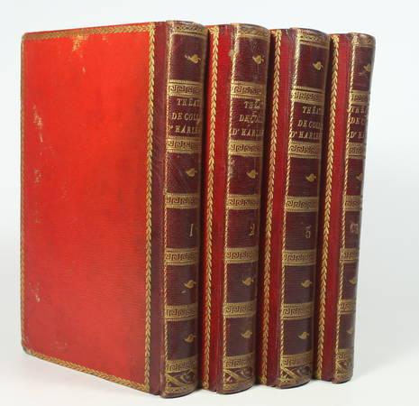 COLLIN d'Harleville - Théâtre et poésies fugitives 1805 - 4 volumes - Photo 1 - livre du XIXe siècle