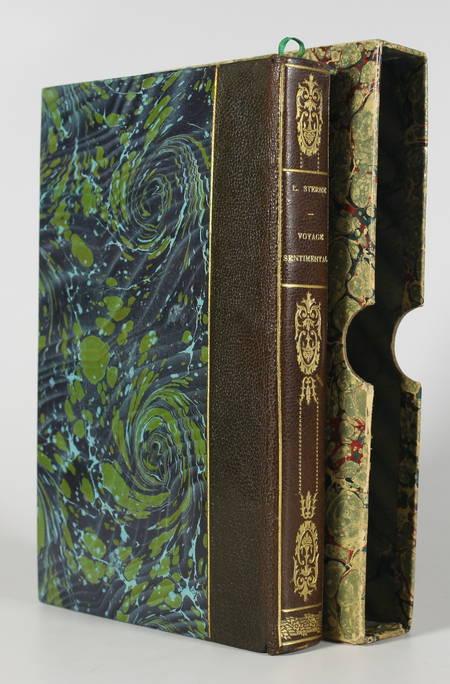 STERNE (Laurence). Voyage sentimental en France et en Italie. Traduction nouvelle et préface par Alfred Hédouin