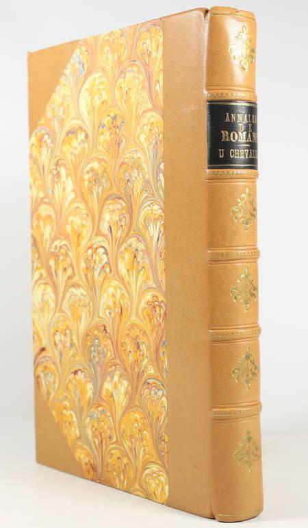 Ulysse CHEVALIER - Annales de la ville de Romans - 1897 - Photo 1, livre rare du XIXe siècle