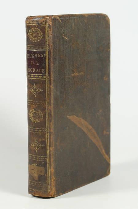 CASSEGRAIN - Elémens de morale, à l usage des maisons d éducation - 1806 - Photo 1, livre ancien du XIXe siècle