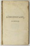 [Théâtre] COLLIN d HARLEVILLE - L inconstant - 1789 - Photo 1 - livre de collection