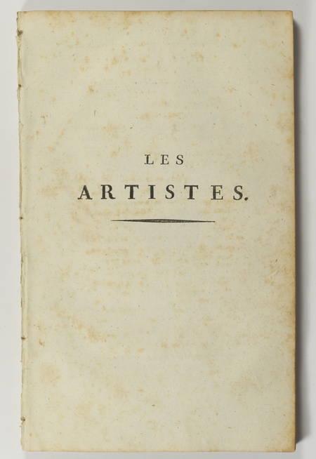 COLLIN d'HARLEVILLE - Les artistes - 1797 - Signé par l'auteur - Photo 2 - livre rare