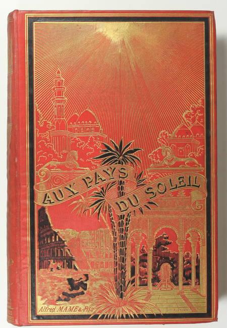FOURNEL - Au pays du soleil - 1883 Espagne, Italie, Egypte - Cartonnage de Souzé - Photo 0 - livre d'occasion