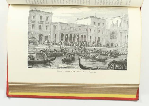 FOURNEL - Au pays du soleil - 1883 Espagne, Italie, Egypte - Cartonnage de Souzé - Photo 5 - livre d occasion
