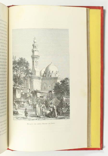 FOURNEL - Au pays du soleil - 1883 Espagne, Italie, Egypte - Cartonnage de Souzé - Photo 6 - livre d occasion