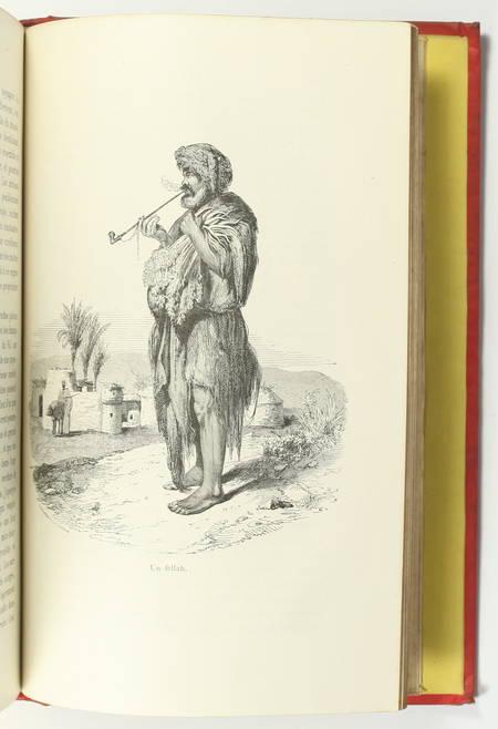 FOURNEL - Au pays du soleil - 1883 Espagne, Italie, Egypte - Cartonnage de Souzé - Photo 7, livre rare du XIXe siècle