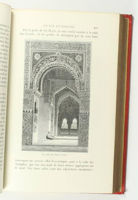 FOURNEL - Au pays du soleil - 1883 Espagne, Italie, Egypte - Cartonnage de Souzé - Photo 8, livre rare du XIXe siècle