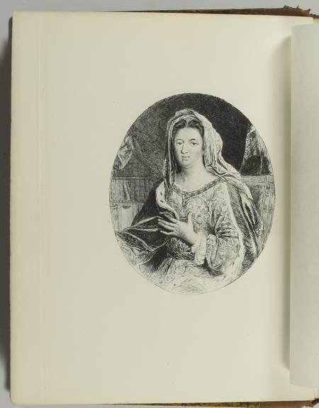 MAINTENON (Madame de). Choix d'entretiens et de lettres, livre rare du XIXe siècle