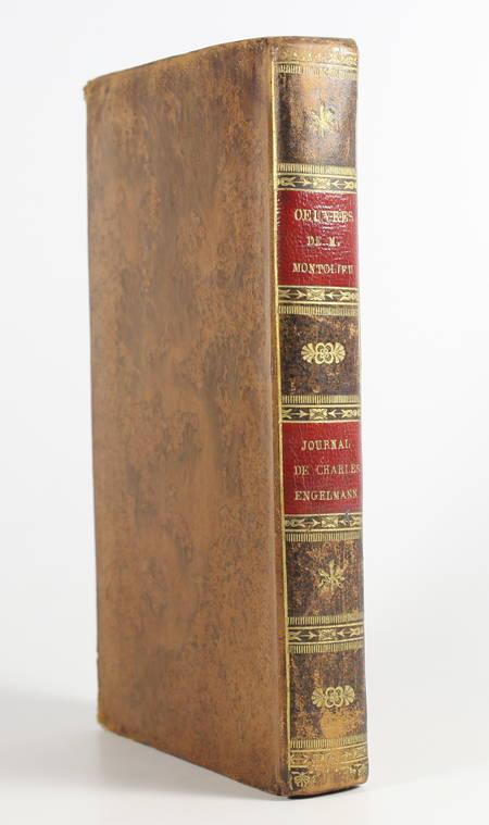 LAFONTAINE MONTOLIEU - Tableaux de famille, journal de Charles Engelmann - 1820 - Photo 1, livre rare du XIXe siècle