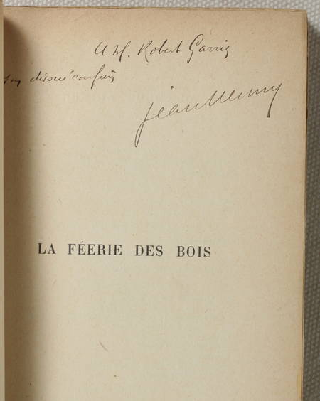 NESMY (Jean) [Pseudonyme d'Henry Surchamp]. La féerie des bois