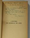 DERAIS RAMBAUD - L envers du journal de Gide. Tunis 1942-43 - Envois des auteurs - Photo 0 - livre de collection
