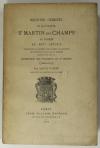 TANON - Registre criminel de la justice de St-Martin des Champs à Paris au 14e s - Photo 0 - livre de bibliophilie